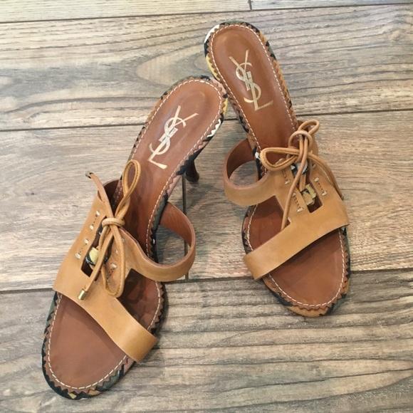 4c794bbe025 Yves Saint Laurent Shoes | Ysl Summer Sandals | Poshmark